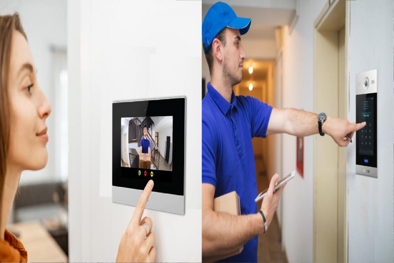 Intercom cung cấp giải pháp liên lạc với người trong và ngoài tòa nhà tốt hơn.
