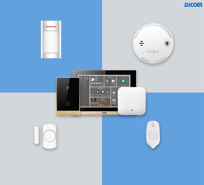 Hệ thống thiết bị báo động DiCOM đem đến trải nghiệm sống an toàn và tiện nghi.