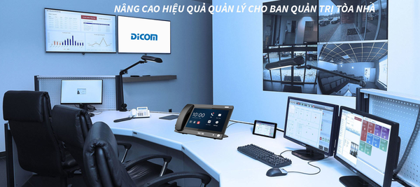 Intercom là hệ thống liên lạc phổ biến hiện nay