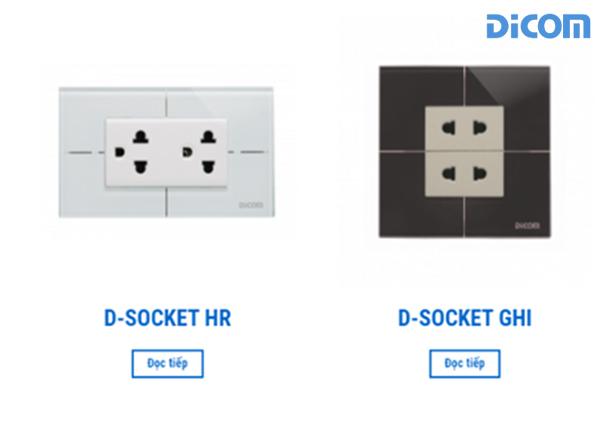 Ổ cắm hiện đại D-Socket